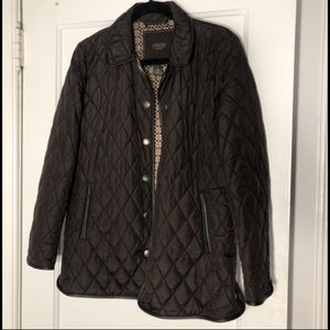 Signature Quilted Coach Jacket Size S